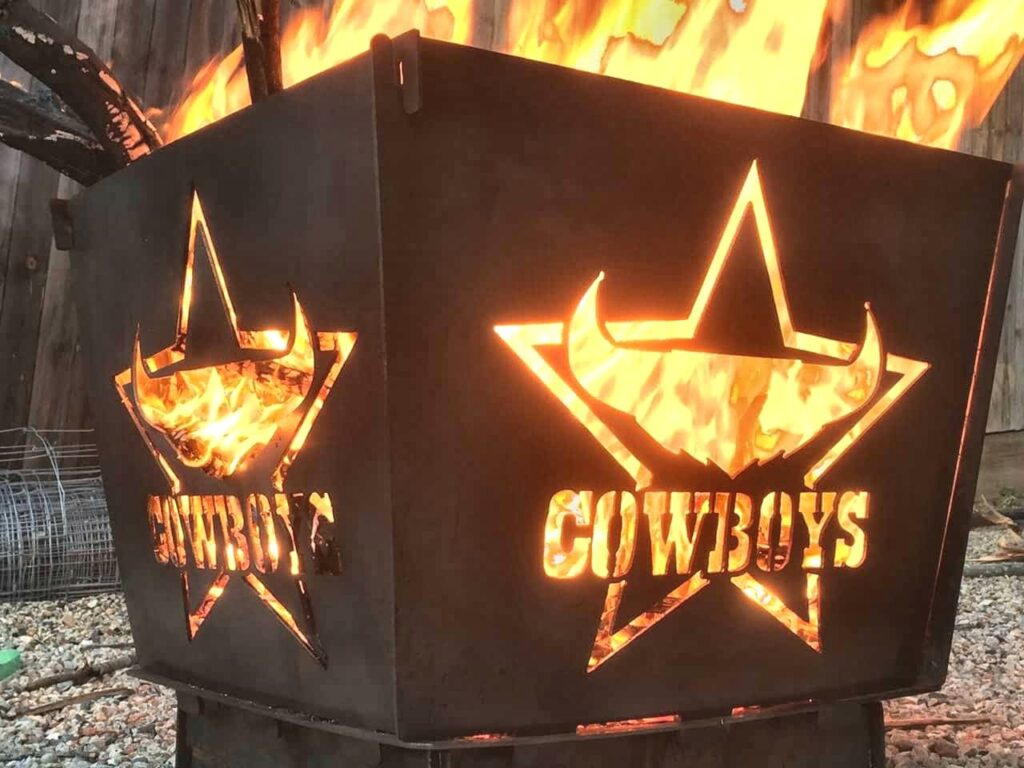 Queensland Cowboys Flat Pack Fire Pit
